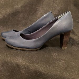 """Rockport """"Total Motion"""" Pumps:Navy, Like New"""